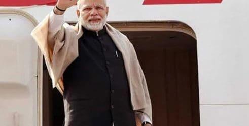 Prime Minister Narendra Modi in UAE